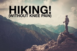 knee pain, hiking